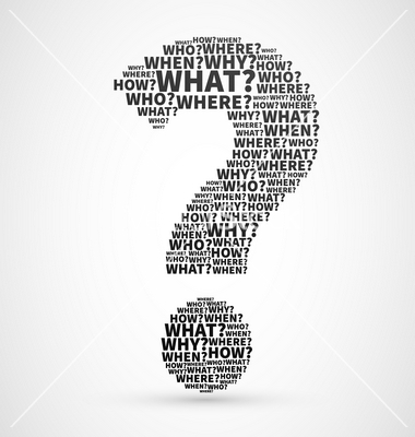 Question mark from Question words